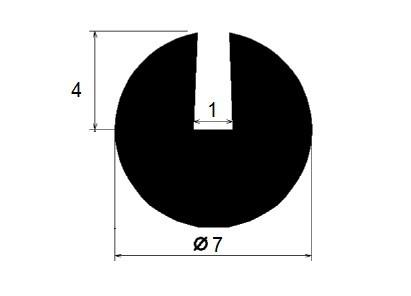 Uszczelka na krawędź 1 mm